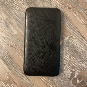Black Wallet, Snap Clutch